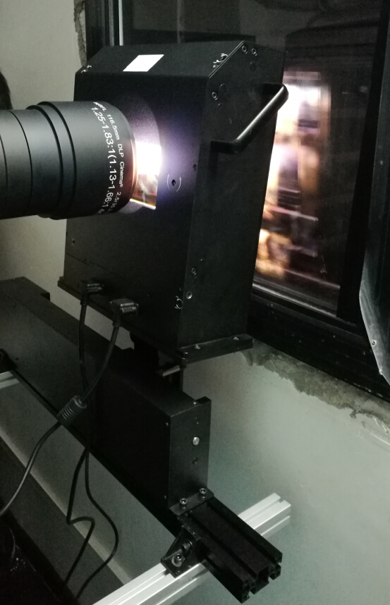 3D Cinema Systems Circular Polarized Passive Modulator 30% Light Efficiency For Cinema Used
