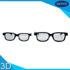 Chiny Circular Polarised 3D Glasses Passive Cinema Glasses Work With Masterimage dostawca