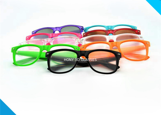 Chiny Wayfarer Style Prism Rave Parties Diffraction Glasses , 3d Firework Glasses dystrybutor