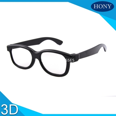 Chiny Passive 3D Circular Polarized Glasses For Movies With ABS Materilas dystrybutor
