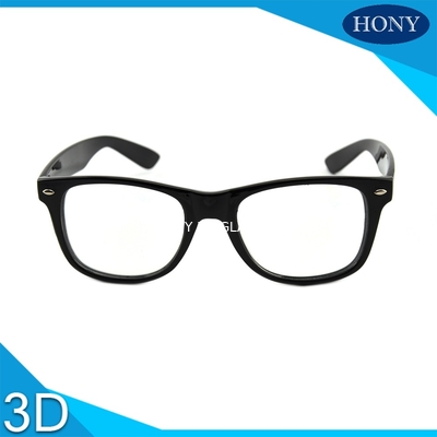 Chiny Cinema White Circular Polarized 3D Glasses foldable arms WITH Anti UV dystrybutor