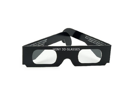 Chiny Cheap Paper Passive Chromadepth 3d Glasses Changing Lights With Spectrum Separated Watch 3D Movie dystrybutor
