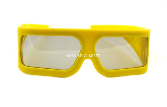 Chiny Imax Cinema Lenses Linear Polarized 3D Glasses Big Size , Eco-friendly dystrybutor