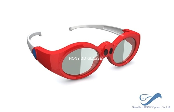 Chiny Children DLP Link 3D Glasses Rechargeable For Xpand 3D Cinema System dystrybutor