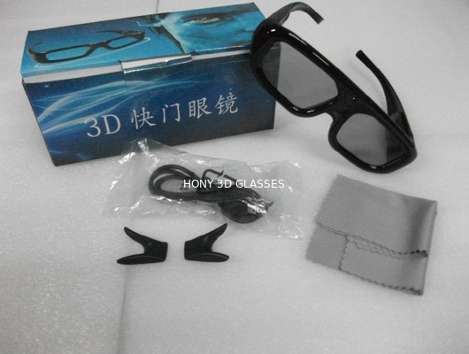 Chiny Samsung Active Shutter 3D TV Glasses Plastic Eyewear For Home Theater dystrybutor