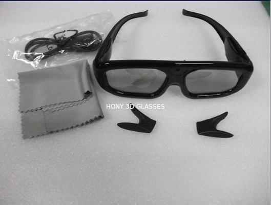 Chiny Infrared Active Shutter 3D TV Glasses  dystrybutor