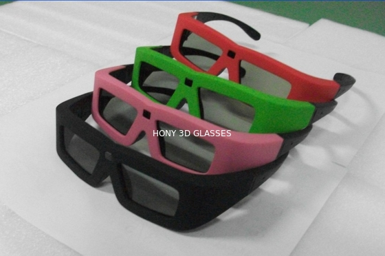 Chiny Lithium Battery Powered DLP Link 3D Glasses Active Shutter High Transmittance dystrybutor
