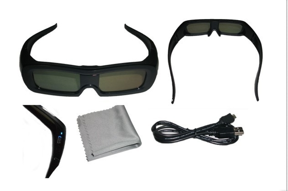 Chiny Polarized Effect Universal Active Shutter 3D  Glasses Bluetooth 120Hz dystrybutor